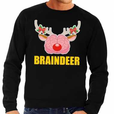 Foute Kersttrui Xl.Foute Kersttrui Braindeer Zwart Voor Heren Kersttrui Heren Nl